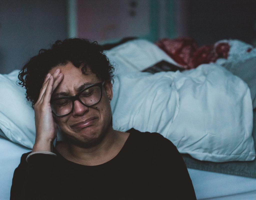 Trauer und negative Emotionen erklären eine Handlung nach dem Wendepunkt